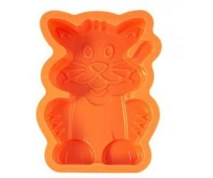 "Kaiserhoff Форма для выпечки ""котенок"" силикон 19 см. KH-1183"