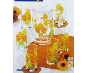 Luminarc (Arcopal) Набор Marguerite для напитков 7 пр. G1984