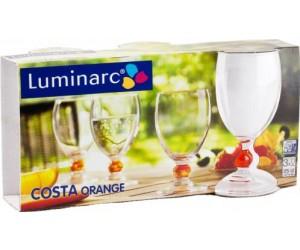 Luminarc Набор бокалов Costa Orange для вина 3 шт. H0378