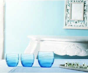 Luminarc Набор низких стаканов 3 шт. Sweet Colors Blue G8445
