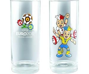 Luminarc Набор высоких стаканов 2 шт. EURO 2012 Mascots 65204
