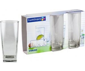 Luminarc Набор высоких стаканов 3 шт. Sterling 8106