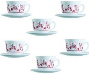 Luminarc Сервиз Alcove Red чайный 12 пр. H2460