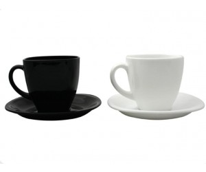 Luminarc Сервиз Carine Black&White чайный 12 пр. D2371