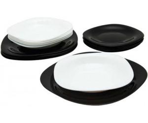 Luminarc Сервиз Carine Black&White столовый 19 пр. D2381