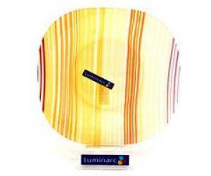 Luminarc Тарелка Carine Orange Strips суповая 22 см. G0080