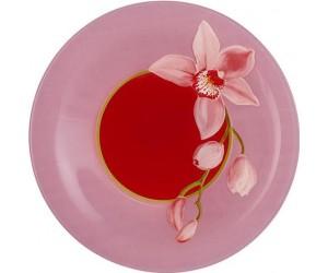 Luminarc Тарелка суповая 21.5 см Red Orchis G0659