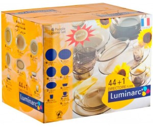 Luminarc (Arcopal) Сервиз столовый 45 пр. Directoire Eclipse H0243