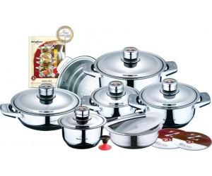 SWISS HOME Набор посуды 17 пр. SH-6001