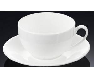 WILMAX Чашка капучино с блюдцем 180 мл. WL-993001