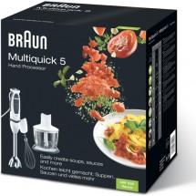 Braun Блендер погружной MR 530 Sauce