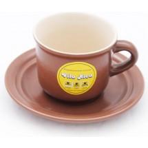 Чашка VILA RICA Табако-Крем чайная 200 мл. 24-171-027