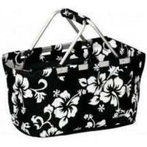 EASY CAMP Корзина BASKET FLOWER для пикника Black 390832