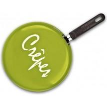 Granchio Сковорода для блинов Crepe d=26 см. оливковая 88273