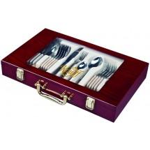 Krauff Столовый набор Elegance 24 пр. в чемодане 29-189-008