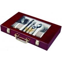 Krauff Столовый набор Vintage 24 пр. в чемодане 29-189-029