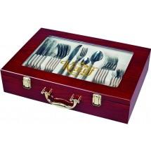 Krauff Столовый набор Vintage 72 пр. в чемодане 29-189-030