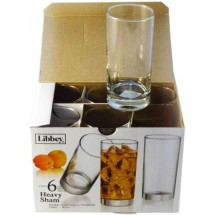 LIBBEY Набор средних стаканов Heavy Sham 6 шт. 31-225-128