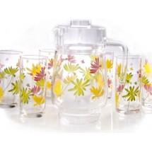 Luminarc (Arcopal) Набор Crazy Flower для напитков 7 пр. G4621