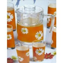 Luminarc (Arcopal) Набор Paquerette Melon для напитков 7 пр. G1980