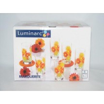 Luminarc (Arcopal) Набор средних стаканов Marguerite 6 шт. G1972