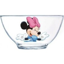 Luminarc (Arcopal) Салатник Disney Colors Minnie на ножке 13 см. H9229