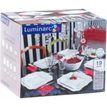 Luminarc (Arcopal) Сервиз Authentic White  столовый 19 пр. E6197