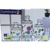 Luminarc Набор банок Splash 3 пр. H9974