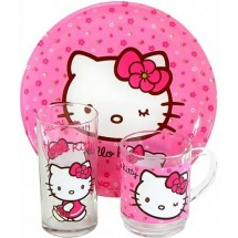 Luminarc Набор Hello Kitty Pink 3 пр. H5483