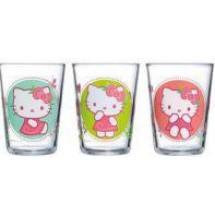 Luminarc Набор высоких стаканов Hello Kitty Nordic Flower 2 шт. H5533