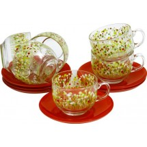 Luminarc Сервиз Flowerfield Red чайный 12 пр. H2486