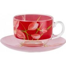 Luminarc Сервиз чайный 12 пр. Red Orchis G0670