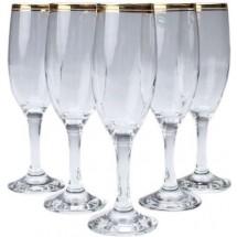 ArtCraft Набор бокалов для шампанского 6 шт. ATLANTICA AC31-146-101