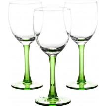 LIBBEY Набор бокалов для вина 3 шт. Clarity 31-225-053 зел