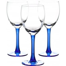 LIBBEY Набор бокалов для вина 3 шт. Clarity 31-225-054 син
