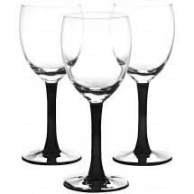LIBBEY Набор бокалов для вина 3 шт. Clarity 31-225-055 черн