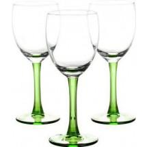 LIBBEY Набор бокалов для вина 3 шт. Clarity 31-225-057 зел