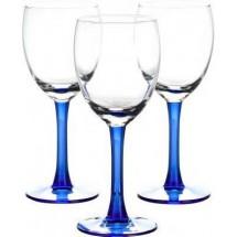 LIBBEY Набор бокалов для вина 3 шт. Clarity 31-225-058 син
