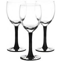 LIBBEY Набор бокалов для вина 3 шт. Clarity 31-225-059 черн