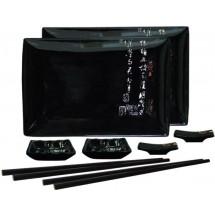 Mitsui Набор для суши 8 пр. черный 24-21-241