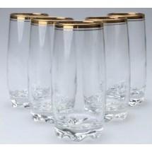 ArtCraft Набор высоких стаканов Atlantica 6 шт. AC31-146-106