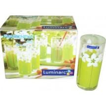 Luminarc (Arcopal) Набор высоких стаканов Amsterdam Pimprenelle Anis 6 шт. D1736