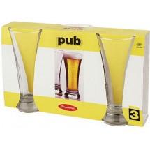 Pasabahce Набор бокалов Pub для пива 3 шт. 42199