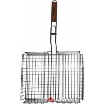 АМА Решетка для барбекю глубокая 38х28х6 см. 0705
