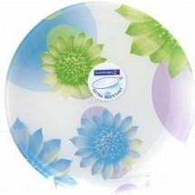 Luminarc (Arcopal) Тарелка Flowers Dream Blue обеденная 25 см. G1123