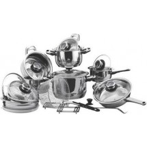 Vinzer Набор посуды Grand Cuisine Glass 24 пр. 89024